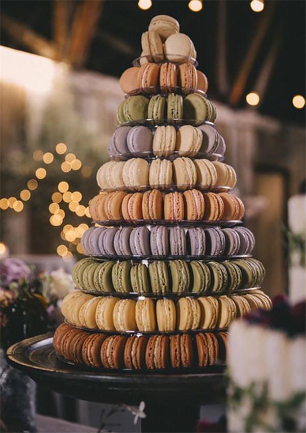 macaron tower ideas photo by Josh Goleman