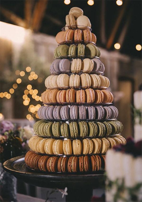 macaron tower ideas photo by Josh Goleman