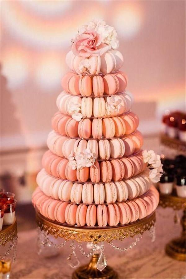 macaroon tree instead of a wedding cake