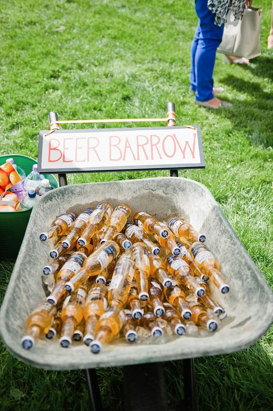 reception ideas of beer barrow