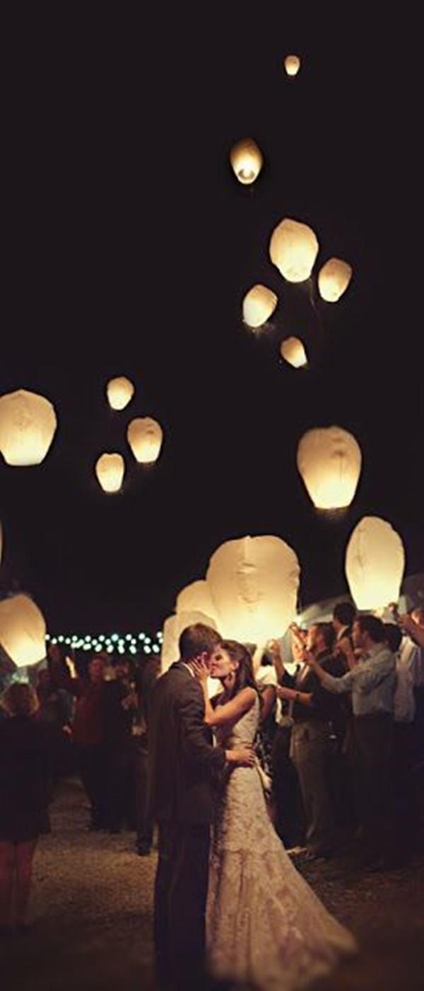 wanted a lantern send-off