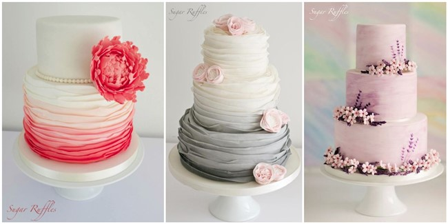 20+ Wedding Cake Ideas from Sugar Ruffles