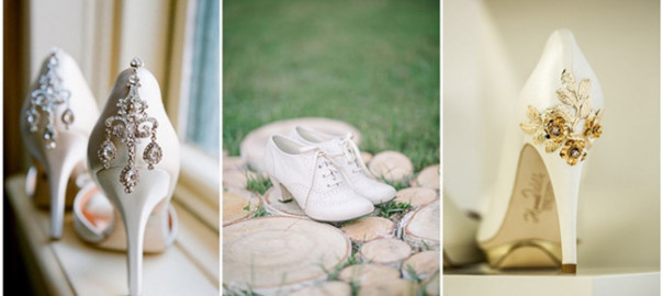 20 White Wedding Shoes Brides Wish They Wore at Their Wedding