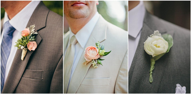 23 Wedding Boutonniere Ideas You Cannot Resist