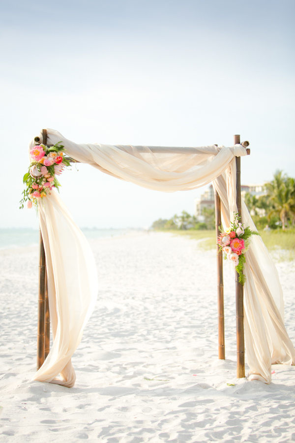 20 diy floral wedding arch decoration ideas beach and gold resort flower wedding arch ideas junglespirit Gallery