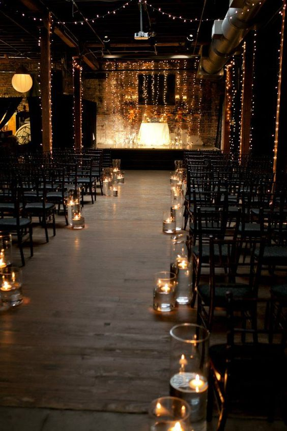 Beautiful Candles decorations At Your Wedding