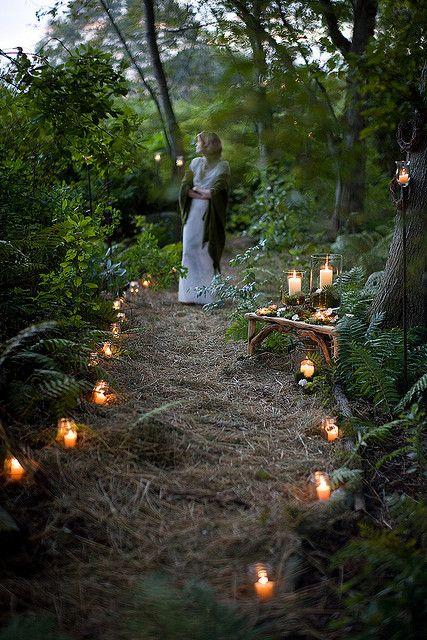 Beautiful Woodland Wedding Photography