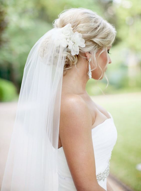 Chic and Elegance wedding veils ideas by Nicole Chatham