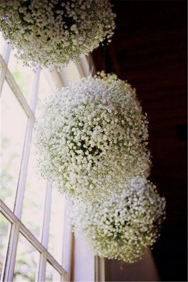 DIY Baby's Breath Burlap & Lace Wedding Ideas