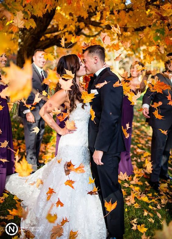 Fall Wedding Photo - Colin Cowie Weddings
