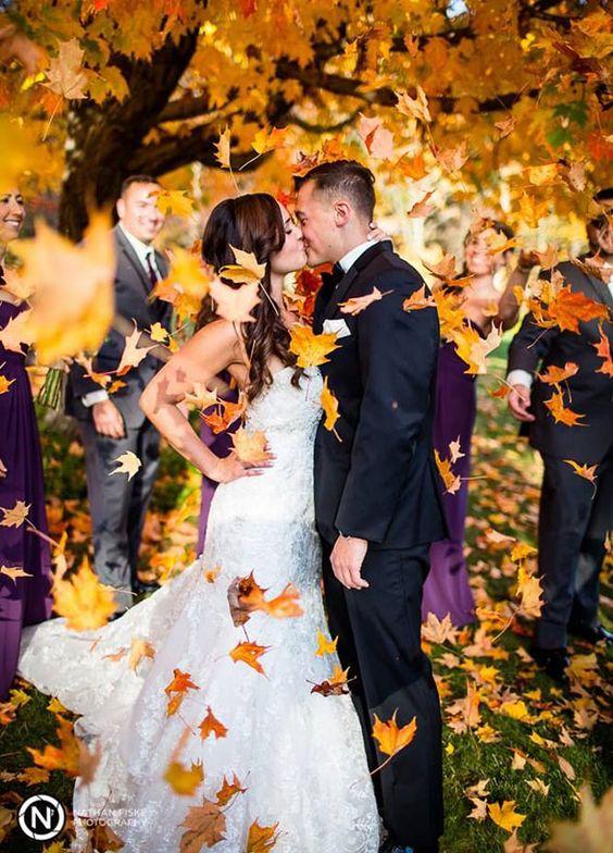 Fall Wedding Photo - Colin Cowie Weddings