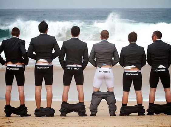 Hilarious Groomsmen Photos Made Me Love Weddings All Over Again