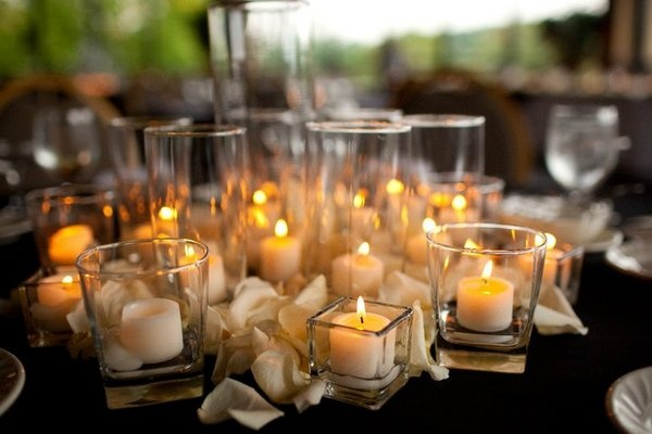 Outstanding Decorative Wedding Candles Wedding Candle Decorations