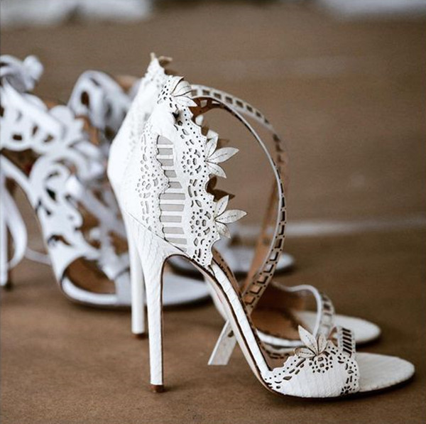 Perfect marches a shoes to go with every wedding dress