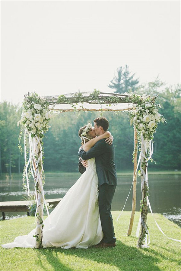 20 Diy Floral Wedding Arch Decoration Ideas