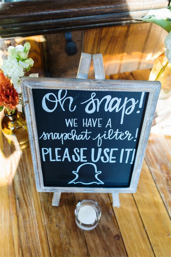 Snapchat Can Make Your Wedding Look Even More Beautiful