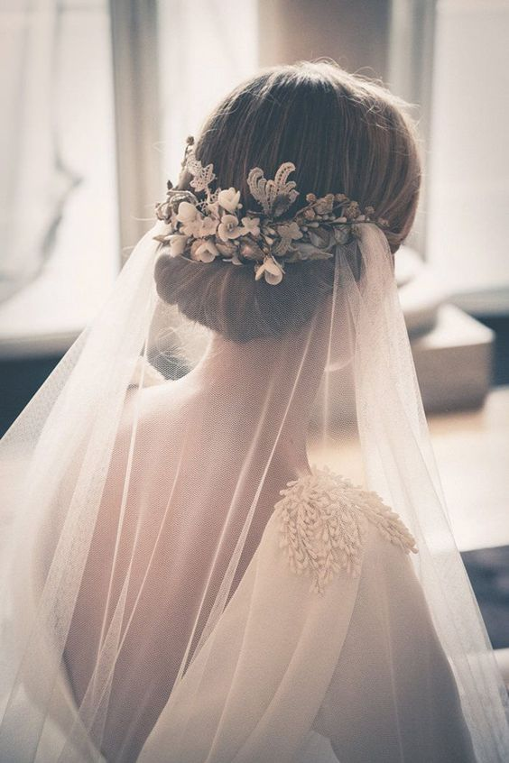 Stunning Wedding Veil and Headpiece Ideas