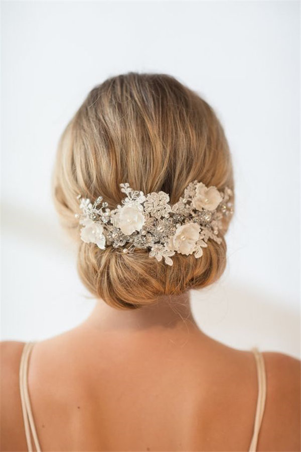 Wedding Lace Head Piece Hair Accessory