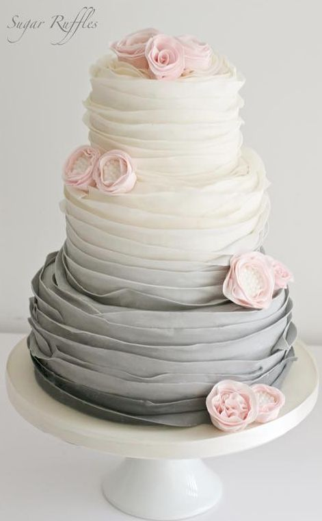 Wedding cake idea Featured by Sugar Ruffles