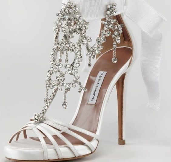 White Wedding Shoes for Guaranteed Perfection