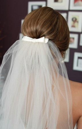 Without the veil, you're just another girl in a white dress. With the veil, you're a bride! -Randy Fenoli
