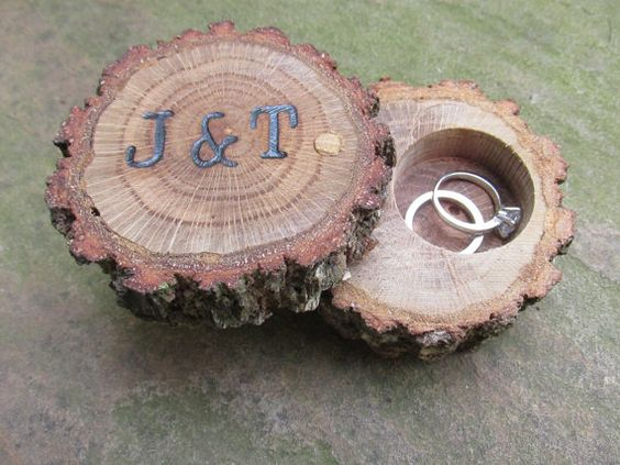 Woodland Ring Box ideas