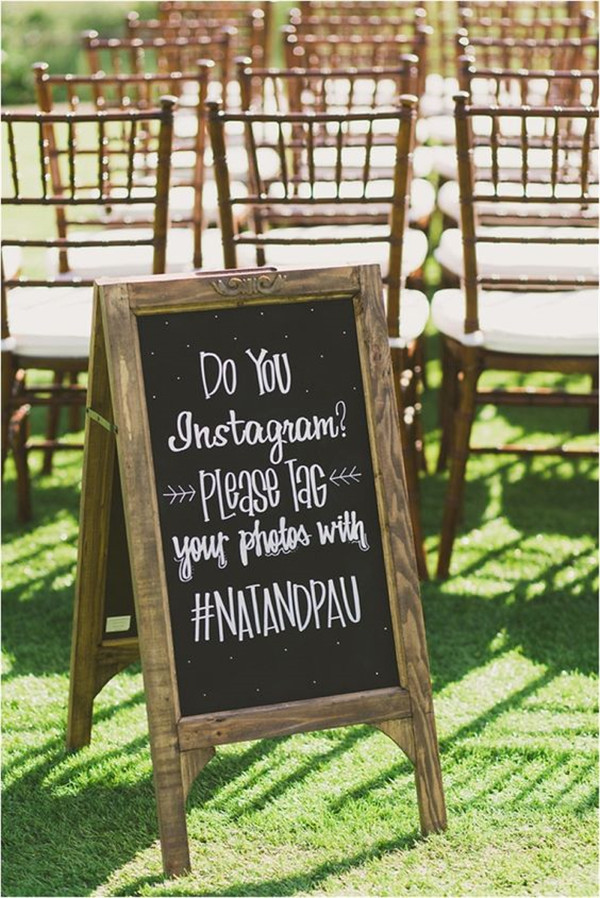 do you instagram wedding hashtag ideas