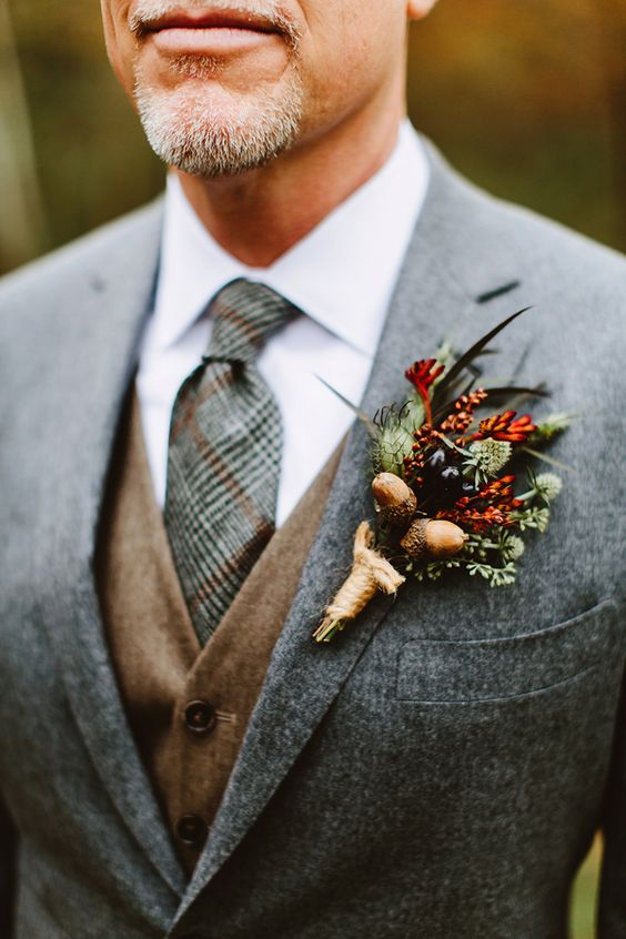winter boutonniere - photo by Pat Furey