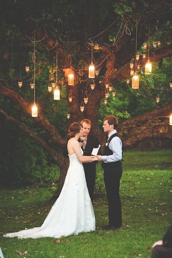 woodland wedding idea