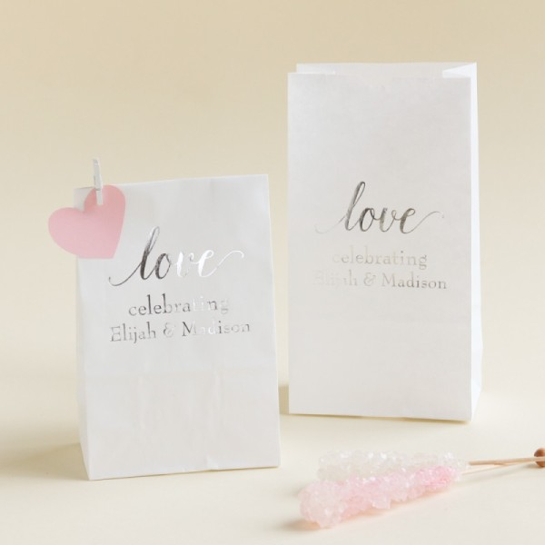 15.Personalized Bridal Goodie Bag