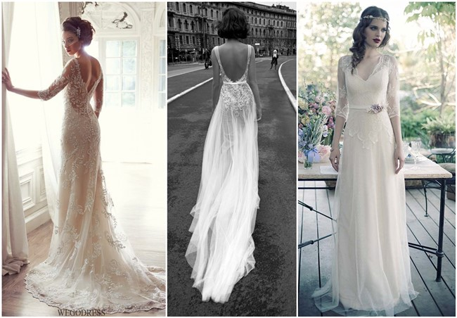20 Vintage Wedding Dresses With Amazing Details - Vintage Wedding Dresses