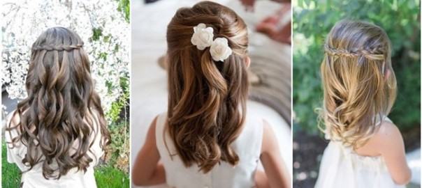 22 Adorable Flower Girl Hairstyles to Get Imspired