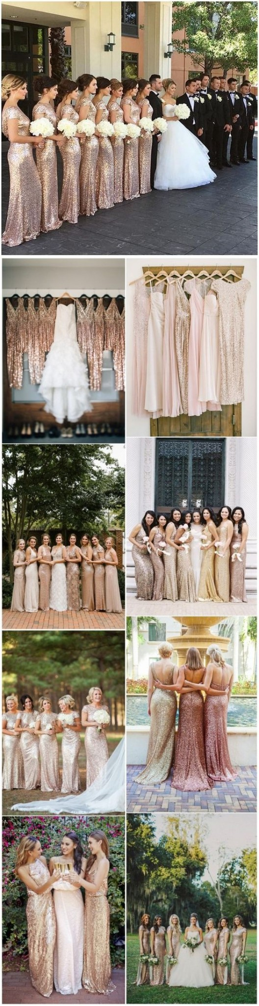 22 Glamorous Gold Bridesmaid Dresses Ideas You Can't Miss