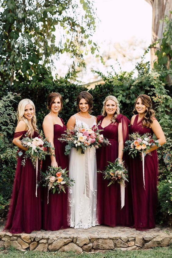 A California Garden Wedding with Romantic Florals - photo by Plum and Oak