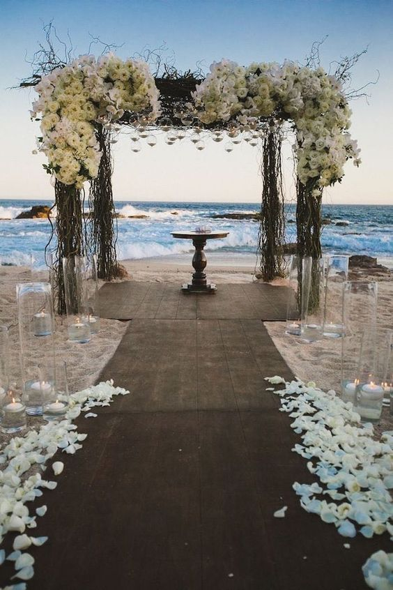 Brides dreaming of the perfect beach wedding have come to the right place!