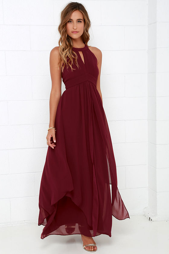 20 Breathtaking Burgundy Bridesmaid Dresses For Fall Page 2