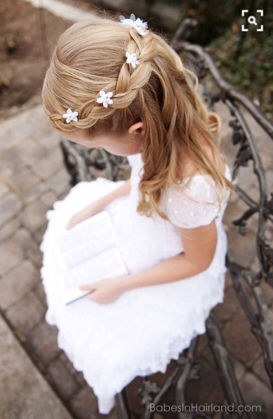 Gorgeous Flower Girl Hairstyles