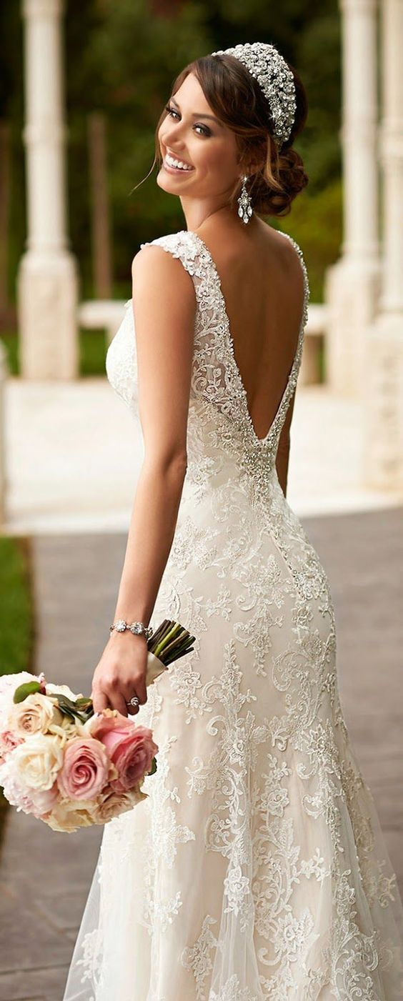 vintage wedding dresses with amazing details amazing wedding dresses Gorgeous Wedding Dresses