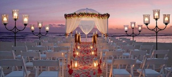 How to plan a #Wedding #Ceremony ♡ NIGHT BEACH WEDDING