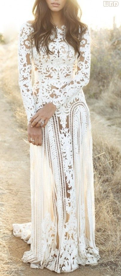 Long-Sleeved Wedding Dresses