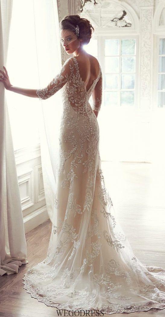 20 Vintage Wedding Dresses with Amazing Details