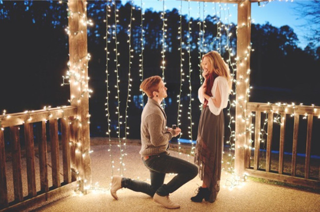 18 Most Romantic Wedding Proposal Photo Ideas! How magical!