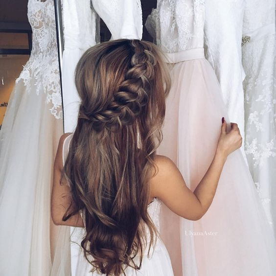 Super elegant hairstyles for flower girl