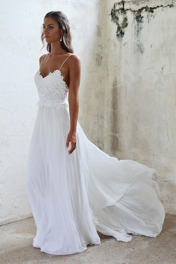 Cheap Causal Beach Wedding Dresses in South Africa