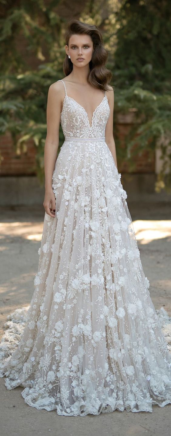 Wedding Dress by Berta Spring Bridal Collection