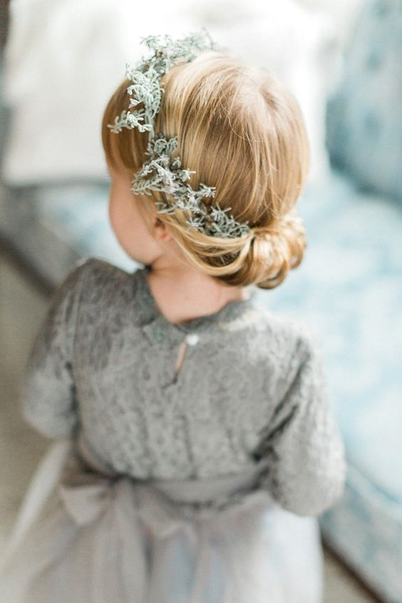 flower girl crown - photo by Ashley Errington Photography