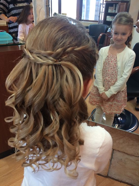 haistyles for flower girls