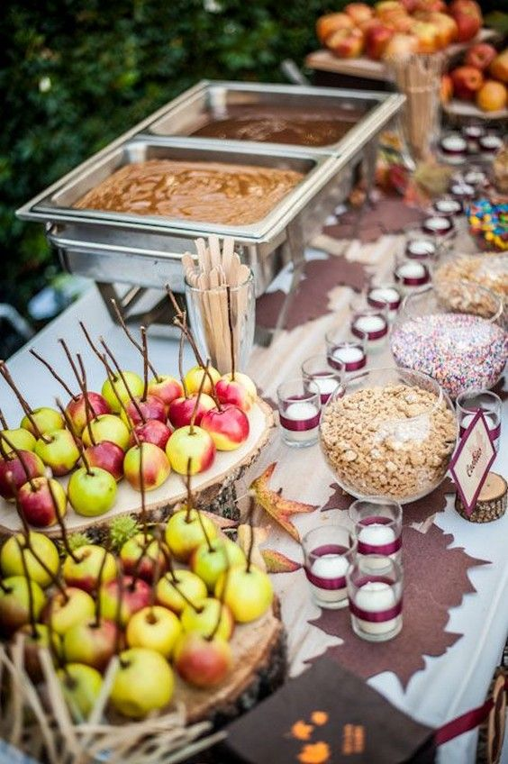 Apple Bar For Your Wedding