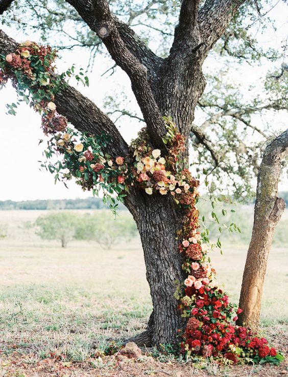 Bohemian Fall Wedding in Texas Hill Country Photo by Taylor Lord