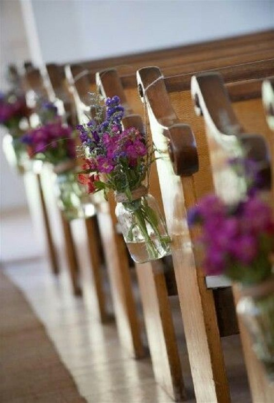 21 stunning church wedding aisle decoration ideas to steal church wedding decorations by easyday junglespirit Images